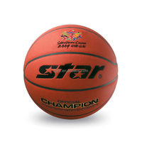 Whosale good material Microfiber leather size 7 BB327 Star manual basketball
