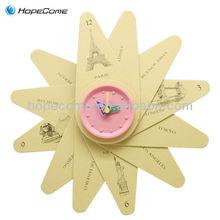 Imagen de papel reloj/imágenes reloj de pared( c1202)