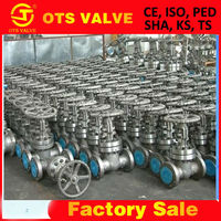 BV-SY-359 ASME A216 cast steel gate control valve from manufacturing