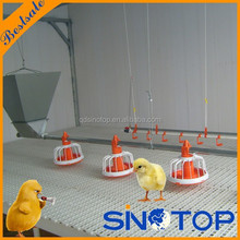 Automatic chicken raising equipment chicken farm used drinking line and feeding line for poultry in poultry equipment