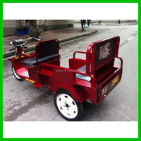 2015 Battery Operated Electric Tricycle Passenger Auto Rickshaw
