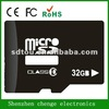 OEM full capacity 32gb micro sd card 32gb class 10 3.0 with low price
