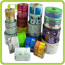 automatic food packaging plastic film roll,laminated film roll,roll film for food packaging