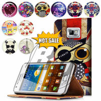 For Samsung Galaxy S5 Mini I9600 Mini Case Print Flip PU Folio Wallet Book Style Leather Case Cover Moible Phone Csaes