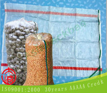 china pp plastic woven rice bags, food plastic bag