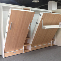 Folding Wall Bed for kids.High quality wall bed with study table