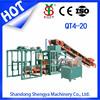 hollow block making machine,brick paving machines QT4-20