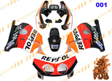 R E P S O L MC22 Aftermarket ABS Injection Molding Fairing Bodykit Fairing Cover CBR250RR MC22 1990 91 92 93 94 95 96 97 98 99