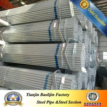 Precision structural hot dip astm a53 galvanized steel pipe