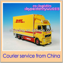 DHL courier service from Yiwu China to saudi-arabia Danny