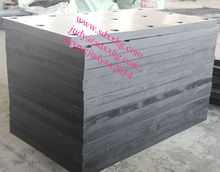 Recycled PE material UHMW plastic pad for dock Fender Guard,shipbody protection pad