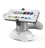 Security retail displays stand holder for Global smartphones stores android security display alarm stand