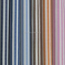 100 cotton yarn dyed stripe dobby fabric