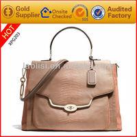 Hot sale exotic skin handbags imitation wholesale ladies bags 2014