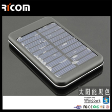 2015 new 4000mah Portable solar Power Bank Solar Power Bank 4000mah Solar Charger Power Bank For laptop ipad mobilephone