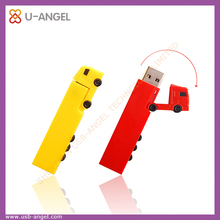 PVC truck shape usb pen drives 32gb usb memory stick