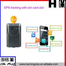 new arrival GPS tracker support GPS+AGPS tracking sim card slot Model TA10