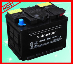 South africa hot sale car battery Dry 12v 50ah electric battery wholesale