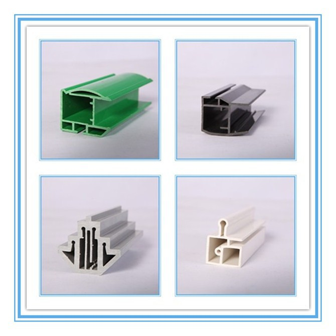 Cheap pvc and aluminium profile for chest freezer glass for Cheap pvc door