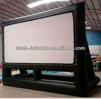 indoor inflatable movie screen with high quality