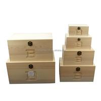 Decorative cardboard storage boxes, wood gift case, cute gift box