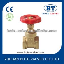 BT4001 Italy type PN16 brass stem gate valve