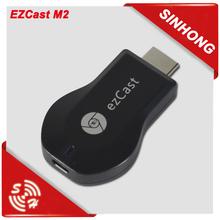 Hot Sale wifi display miracast dongle ezcast M2 google chromecast