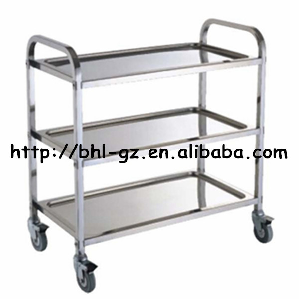Guangzhou Hotel Supply Stainless Steel Square tube Movable kitchen storage trolley cargo kitchen trolley furniture trolley  sc 1 st  Alibaba & Guangzhou Hotel Supply Stainless Steel Square Tube Movable Kitchen ...