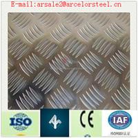 HOT SALE (diamond, 5-bar) aluminum checkered plate tool box
