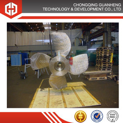 precision casing large stainless steel ship propeller for sale