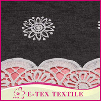 China Suppliers China Custom Woven jeans embroidery designs fabrics