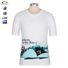 Custom 100% cotton export wide neck korean t shirt print