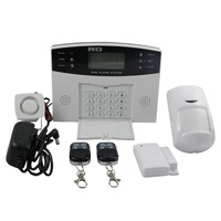 2015 New Arrival wireless GSM auto dial alarm system with Multi Language