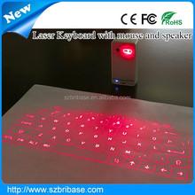 New Developed Virtual Laser Keyboard bluetooth Mouse speaker wireless Infrared Keyboard