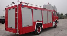 5t 4*2 190hp camión de bomberos, dongfeng 153 de agua de la espuma camión de bomberos
