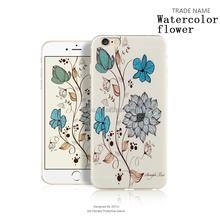 Soft Gel Silicone Customized Custom Cute Covers for iphone 6 bumper case