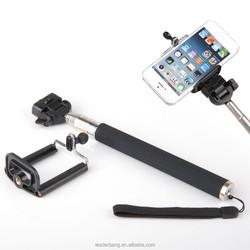 High quality bluetooth monopod selfie stick wholesale