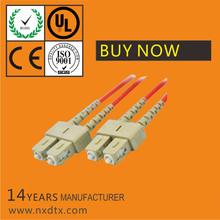 OFNPFTTH SC multimode duplex fiber optic pigtail,0.9mm pigtail fibra
