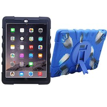 New arrival factory design waterproof silicone 9.7 inch tablet pc case for iPad Air