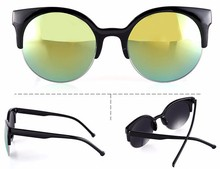 2015 Alibaba New Promotion Factory in Stock Cheap Round Sunglasses for Women