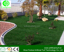 direct buy factory high quality landscaping synthetic turf natural plastic grass for garden .WF-8