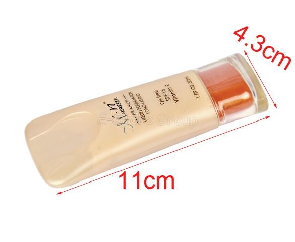 новый профессиональный макияж 30 мл магии нескольких эффект отбеливания жидкой основы spf 15 оттенок слоновой кости maquiagem p146