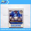 eagleking brand Quartz glass yellow halogen bulb H4 12v 60/55w