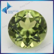 Guangxi gems precious round peridot natural stone beads