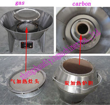 Gas and Coal heating duck roasting machine with best price