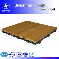 Hot sale wood plastic composite decking