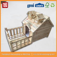Luxury Wooden Dog House Pet Furniture Dog Kennel