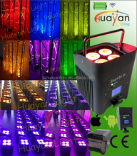 DJ effects light Freedom Par Quad color wireless and battery operated DJ effects light Rechargable Wash Light Uplight