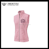 Wholesale Hot custom Women Monogrammed Vest