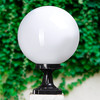 high quality large hollow acrylic sphere lamp-chimney